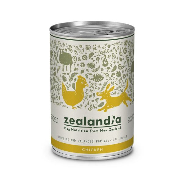 Zealandia DOG Free-Range Chicken 370g ZA117