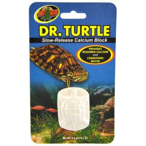 Zoo Med Dr Turtle Slow-Release Calcium Block ZMMD11