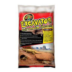 Zoo Med Excavator Clay Burrow Substrate 20lb ZMXR20